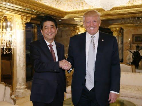 Shinzō Abe and Donald Trump 1 - 本当に全面的に北朝鮮だけが悪いのか?最悪の事態は絶対に避けなくては! Are we sure it's all North Korea's fault?  We must prevent war!