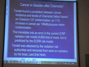 Swedes still dying from Chernobyl radiation