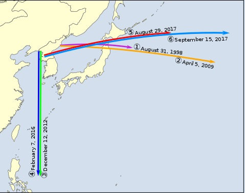 north missile - 本当に全面的に北朝鮮だけが悪いのか?最悪の事態は絶対に避けなくては! Are we sure it's all North Korea's fault?  We must prevent war!