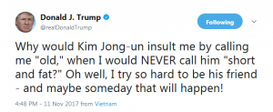 wants to be a friend 300x123 - 北朝鮮の太平洋上水爆実験で米国が「反撃」する!過度な圧力で金正恩が自暴自棄になれば朝鮮半島と日本をみちづれに!? 核+通常ミサイル+おとりでミサイル防衛は役に立たない!/Kim Jong-un becoming desperate or testing hydrogen bomb in Pacific Ocean can trigger war