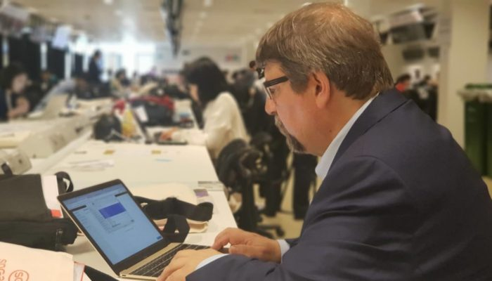 cropped tim at press center 700x400 - What to expect at the Trump-Kim summit (Tim Shorrock)