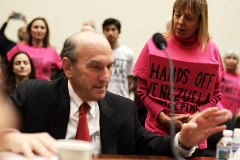 5c6485da36000039106af926 768x512 - (1) Elliott Abrams: War Criminal Running US Policy in Venezuela and  (2) Ilhan Omar Grills Abrams