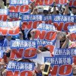 Onaga revokes permission for base relocation work